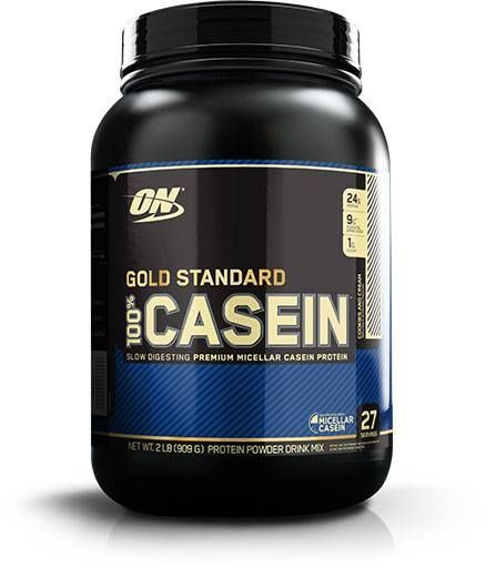 100% Casein, Optimum Nutrition, Cookies & Cream, 2lb