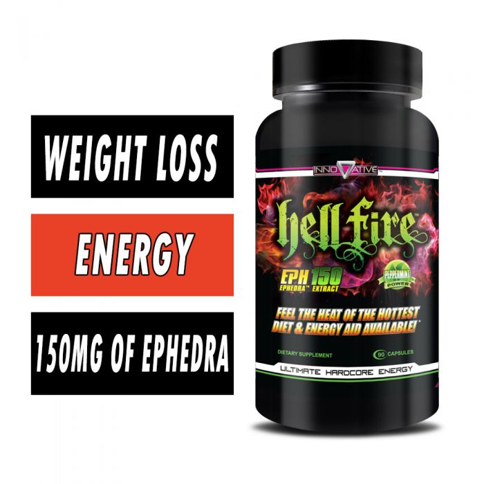 Innovative Laboratories HellFire Fat Burner, 90 Caps