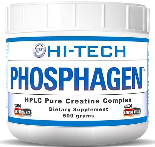 Phosphagen Creatine, By Hi-Tech Pharmaceuticals, Extoic Fruit Flavor, 500 Grams
