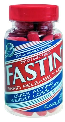 Fastin Rapid Release, By Hi-Tech Pharmaceuticals, 45 Caplets