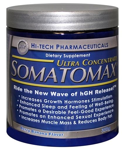 Somatomax Ultra Concentrate, By Hi-Tech Pharmaceuticals, Berry Banana, 300 Grams