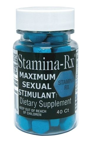 Stamina-Rx, By Hi-Tech Pharmaceuticals, 40 Tabs