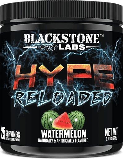 Hype Reloaded By Blackstone Labs, Watermelon, 25 Servings