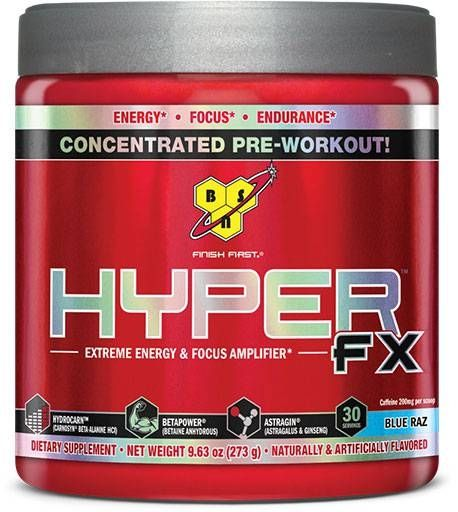 Hyper Fx, Pre Workout, By BSN