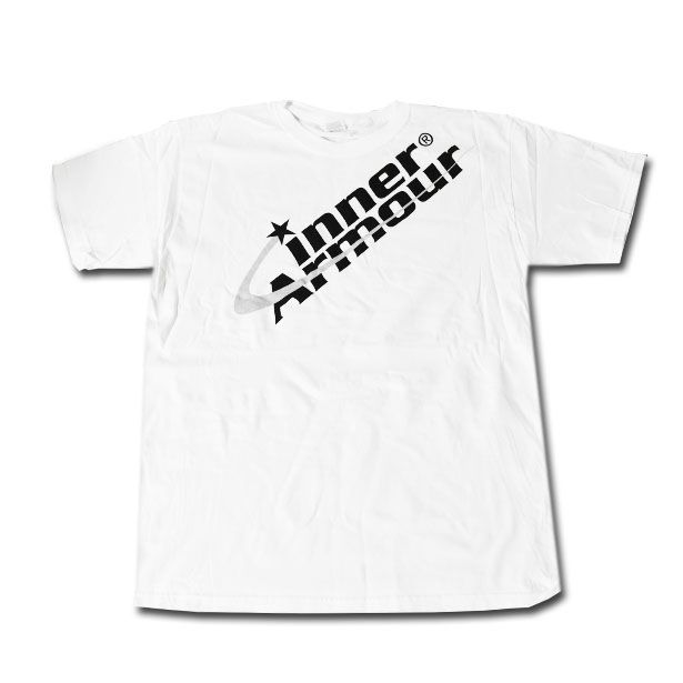 Inner Armour, Large White T-Shirt with Logo,