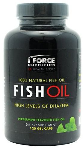iForce Nutrition Fish Oil 120 Softgels