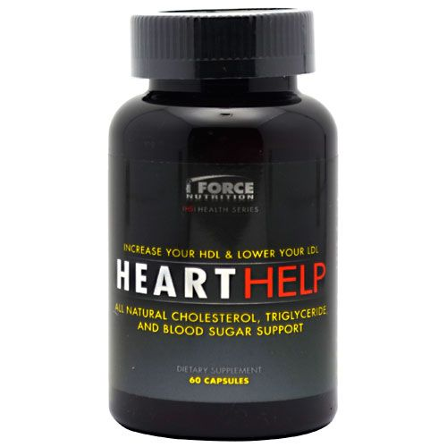 iForce Nutrition Heart Help 60 Caps