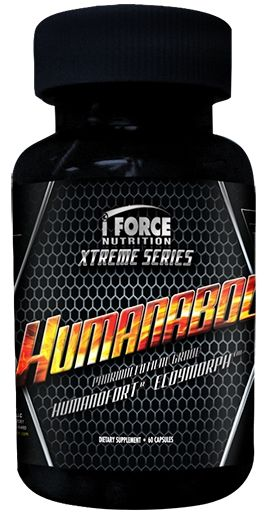 iForce Nutrition Xtreme Series Humanabol 60 Caps