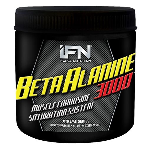 Beta Alanine 3000 By iForce Nutrition, Unflavored, 300 Grams