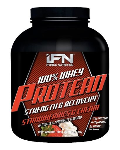Protean By iForce Nutrition, Strawberries and Cream, 4.3lb