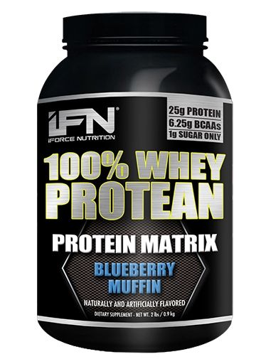 Protean By iForce Nutrition, Blueberry Muffin, 2lb
