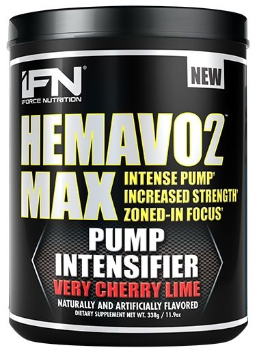 HemaVo2 Max, By iForce Nutrition, Very Cherry Lime, 25 Servings, Nitric Oxide