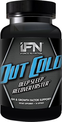 iForce Nutrition Out Cold, 56 Caps, Sleep Aid