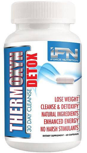 Thermoxyn Detox By iForce Nutrition, 60 Caps
