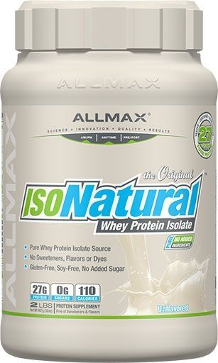 Allmax IsoNatural Unflavored 2lb