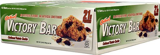 Oh Yeah! Victory Bars, By Oh Yeah! Nutrition, Oatmeal Raisin, 12/Box