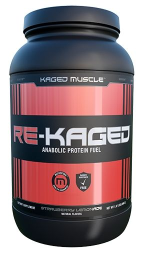 Re Kaged Protein, By Kaged Muscle, Strawberry Lemonade, 20 Servings