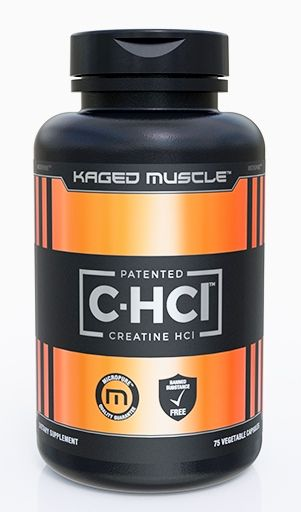 C-HCL By Kaged Muscle, 75 Vegetable Caps