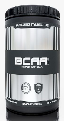 Kaged Muscle BCAA Powder, Unflavored, 400 Grams