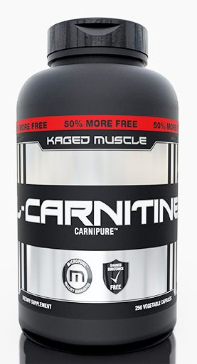 Kaged Muscle L-Carnitine, 250 Vegetable Caps