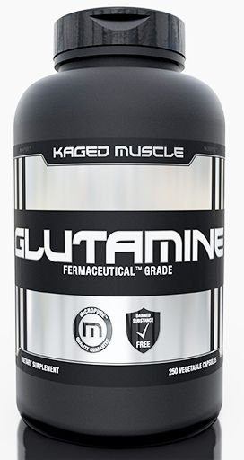 Kaged Muscle Glutamine, 250 Vegetable Caps