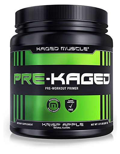 Pre Kaged Pre Workout, By Kaged Muscle, Krisp Apple, 20 Servings