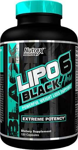 Lipo-6 Black Hers Extreme Potency By Nutrex, 120 Caps