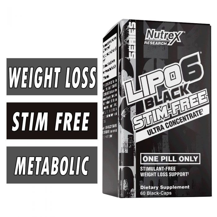 Lipo 6 Black Stim Free By Nutrex