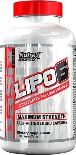 Lipo-6 By Nutrex, White Label
