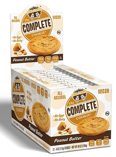 The Complete Cookie, By Lenny and Larry's, Peanut Butter, 12/Box