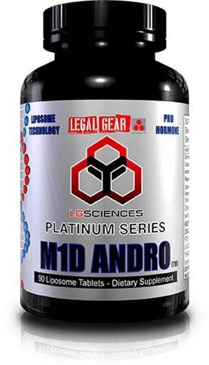 M1D Andro, By LG Sciences, 90 Tabs