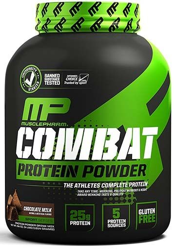 Combat Protein By Muscle Pharm Chocolate 4lb