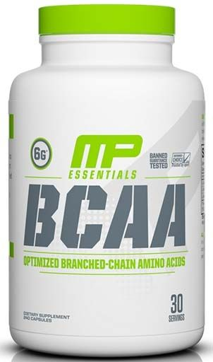 BCAA by Muscle Pharm, 240 Caps