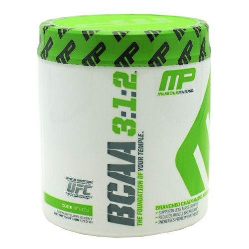 Muscle Pharm Core Series BCAA 3:1:2 Unflavored 30 Servings