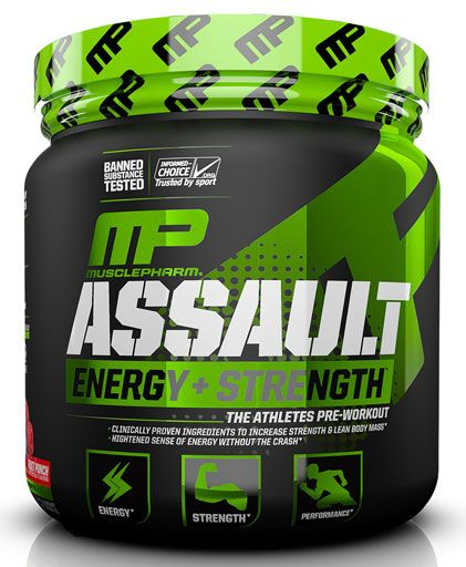 Assault Sport By Muscle Pharm, Fruit Punch, 30 Servings