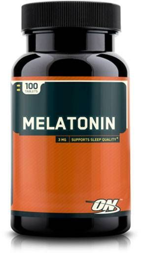 Optimum Nutrition Melatonin 3mg, 100 Tabs