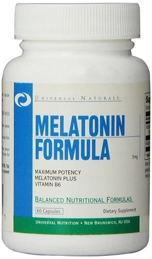 Melatonin By Universal Nutrition, 5 mg 60 Caps