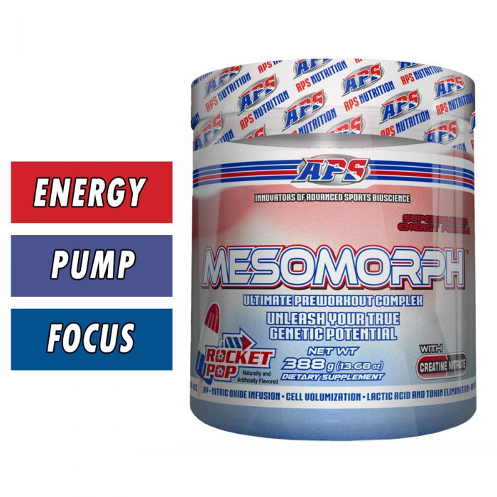 Mesomorph Pre Workout (2 For $35 EA) | APS Nutrition