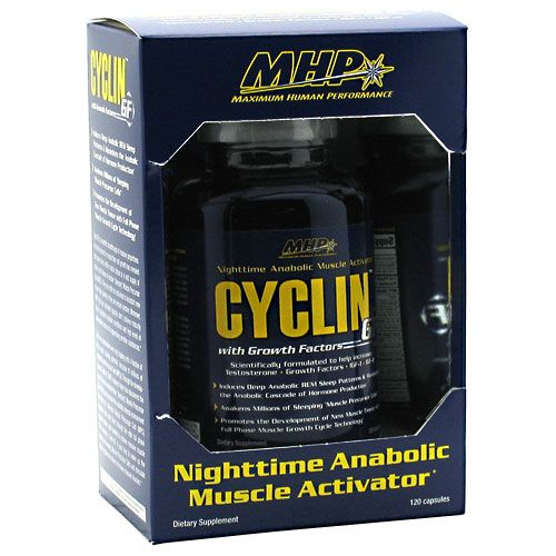 MHP Cyclin GF 120 Caps Night Time Anabolic Activator