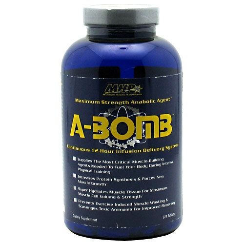 MHP A-Bomb 224 Tabs Gene Activator