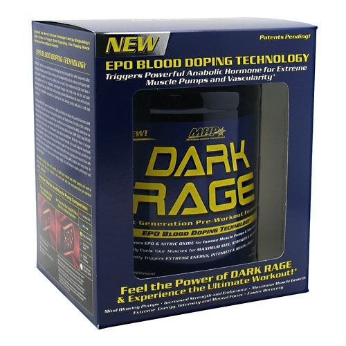 MHP Dark Rage Grape 2 lb Pre Workout Formula