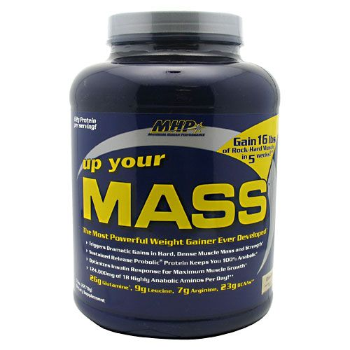MHP Up Your Mass Cinnabun 5 lb Weight Gainer