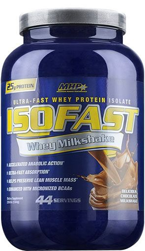 IsoFast Protein By MHP, Delicious Chocolate Milkshake 44 Servings