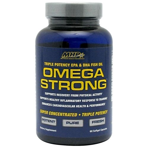 MHP Omega Strong 60 Softgels