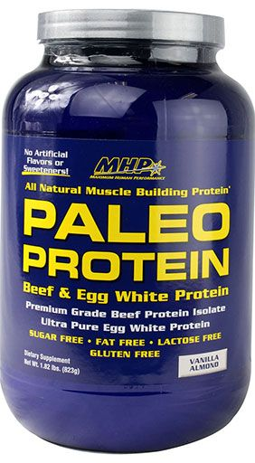 Paleo Protein Powder by MHP, Vanilla Almond 28 Servings