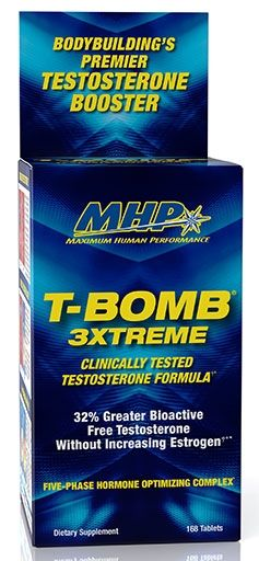 T-Bomb 3xtreme By MHP, 168 Tabs