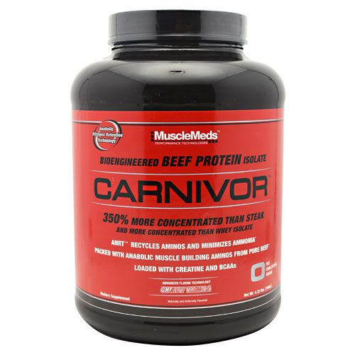 MuscleMeds Carnivor, 4.32lb Cherry Vanilla Beef Protein