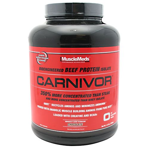 MuscleMeds Carnivor, 4.6lb Chocolate Beef Protein