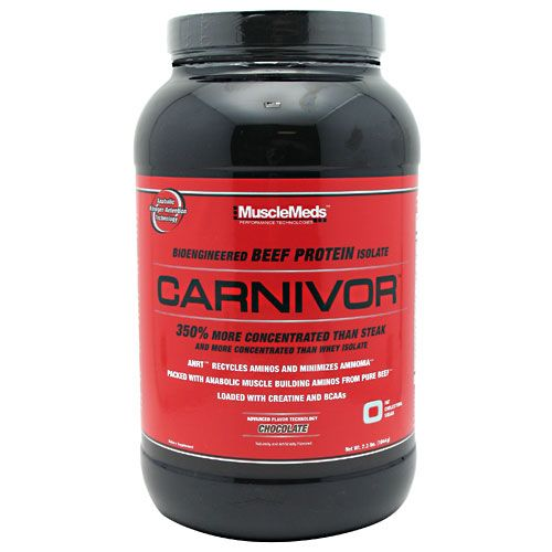 MuscleMeds Carnivor, 2.3 lb Chocolate Beef Protein