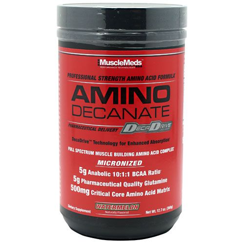 MuscleMeds Amino Decanate Watermelon 30 Servings